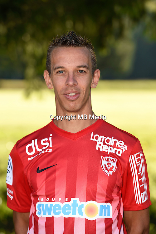 Benoit Pedretti of Nancy poses for a portrait during the Nancy squad photo call for the 2016-2017 Ligue 1 season on August 25, 2016 in Nancy, France<br /> Photo : Fred Marvaux / Icon Sport