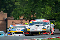 David Pattison (GBR) / Luke Davenport (GBR)  #56 Tolman Motorsport  Ginetta G55 GT3  Ginetta 4.3L V8 British GT Championship at Oulton Park, Little Budworth, Cheshire, United Kingdom. May 28 2016. World Copyright Peter Taylor/PSP. Copy of publication required for printed pictures.  Every used picture is fee-liable. http://archive.petertaylor-photographic.co.uk