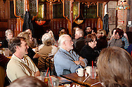 "A glimpse of the audience during Mayhem & Mystery's production of ""Are You Brighter Than a Night Light?"" at the Spaghetti Warehouse in downtown Dayton, Monday, March 15, 2010."