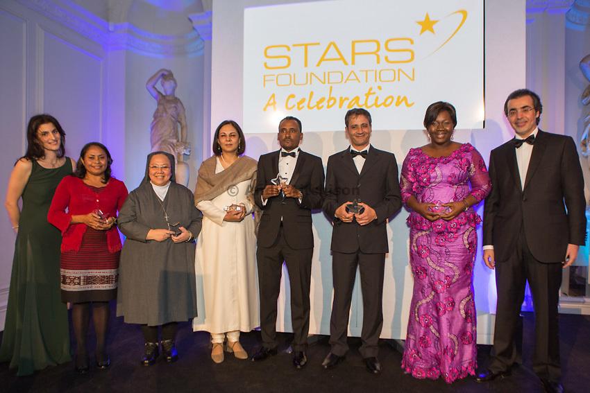 The 2012 STARS Impact awards ceremony & gala dinner, Kensington Palace, London.