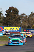 Chaz Mostert & Cameron Waters (Pepsi Max Ford). 2015 Wilson Security Sandown 500. V8 Supercars Championship Round 9. Sandown International Raceway, Victoria. Sunday 13 September 2015. Photo: Clay Cross / photosport.nz
