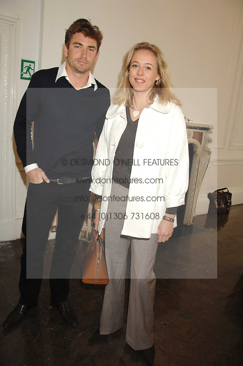 NATHAM ROBERTS and LADY ALEXANDRA SPENCER-CHURCHILL at a lunch in aid of African Solutions To African Problems held at Il Bottaccio, 9 Grosvenor Place, London on 20th May 2008.<br />