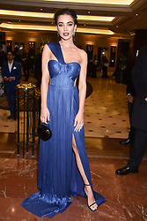 Amy Jackson at The Asian Awards, The Hilton Park Lane, London England. 5 May 2017.<br /> Photo by Dominic O'Neill/SilverHub 0203 174 1069 sales@silverhubmedia.com