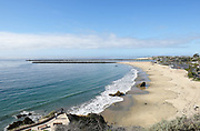 Corona del Mar State Beach from Inspiration Point