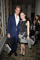 FRANCOIS O'NEILL and ALEXANDRA HOFFNUNG at the Tatler Restaurant Awards 2011 held at the Langham Hotel, Portland Place, London on 9th May 2011.