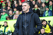 Plymouth Argyle manager manager Ryan Lowe during the EFL Sky Bet League 2 match between Forest Green Rovers and Plymouth Argyle at the New Lawn, Forest Green, United Kingdom on 16 November 2019.