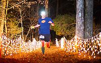 Photographs from the Lovit 100K Lake Ouachita Vista Trail Endurance Run put on by Dustin and Rachel Speer near Hot Springs, Arkansas for Arkansas Life Magazine.<br /> <br /> Winner finishing