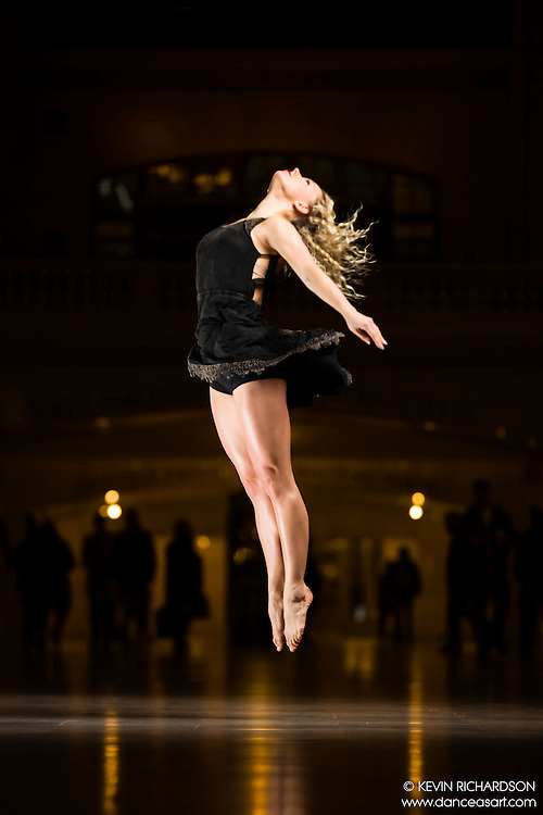 Dance As Art The New York Photography Project Grand Central Series with Jenny Bolhstrom