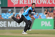 Ed Barnard of Worcestershire Rapids during the Natwest T20 Blast North Group match between Derbyshire County Cricket Club and Worcestershire County Cricket Club at the 3aaa County Ground, Derby, United Kingdom on 8 July 2018. Picture by Mick Haynes.
