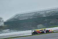 Alvaro Fontes (ESP) / Jesus Fuster (ESP) / Tom Jackson (GBR)  #5 By Speed Factory, Ligier JS P3, Nissan VK50VE 5.0 L V8, during Free Practice 1  as part of the ELMS 4 Hours of Silverstone 2016 at Silverstone, Towcester, Northamptonshire, United Kingdom. April 15 2016. World Copyright Peter Taylor. Copy of publication required for printed pictures.