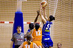 Ivona Matic of Celje at finals match of Slovenian 1st Women league between KK Hit Kranjska Gora and ZKK Merkur Celje, on May 14, 2009, in Arena Vitranc, Kranjska Gora, Slovenia. Merkur Celje won the third time and became Slovenian National Champion. (Photo by Vid Ponikvar / Sportida)