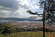Santa Lucia Temple on top of the mountain., View of Viana do Castello from the top of the mountain, next to the Temple of Saint Lucia (Luzia)