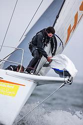 First day of the Delta Lloyd North Sea Regatta, Scheveningen, the Netherlands, 17th May 2013.