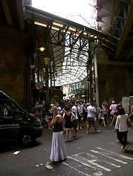 UK ENGLAND LONDON 27JUL13 - General view of Borough Market, Southwark, London.<br /> <br /> <br /> <br /> It is one of the largest and oldest food markets in London, and sells a large variety of foods from all over the world.<br /> <br /> <br /> <br /> jre/Photo by Jiri Rezac<br /> <br /> <br /> <br /> © Jiri Rezac 2013