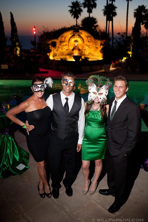 Desiree and Bryan Harris, Cheri and Andrew Silberberg.