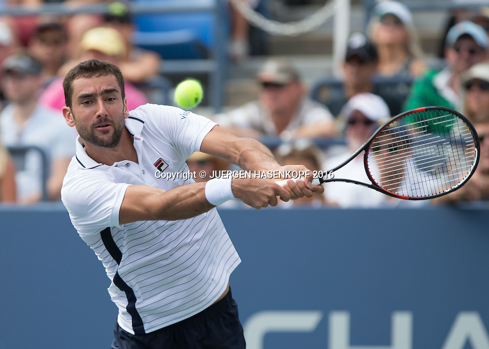MARIN CILIC (CRO)<br /> <br /> Tennis - US Open 2016 - Grand Slam ITF / ATP / WTA -  USTA Billie Jean King National Tennis Center - New York - New York - USA  - 2 September 2016.