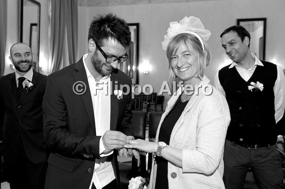 &copy; Filippo Alfero<br /> Eli e Ale<br /> Torino, 13/03/2014