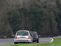 #29 Patrick FLETCHER Renault Clio 182  during K-Tec Racing Clio 182 Championship as part of the 750 Motor Club at Oulton Park, Little Budworth, Cheshire, United Kingdom. April 14 2018. World Copyright Peter Taylor/PSP.