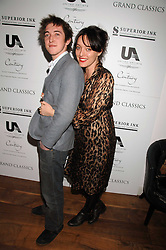 ALICE TEMPERLEY and her brother HENRY TEMPERLEY at the Grand Classic screening of The Apartment held at The Electric Cinema, 191 Portobello Road, London on 16th March 2008.<br />