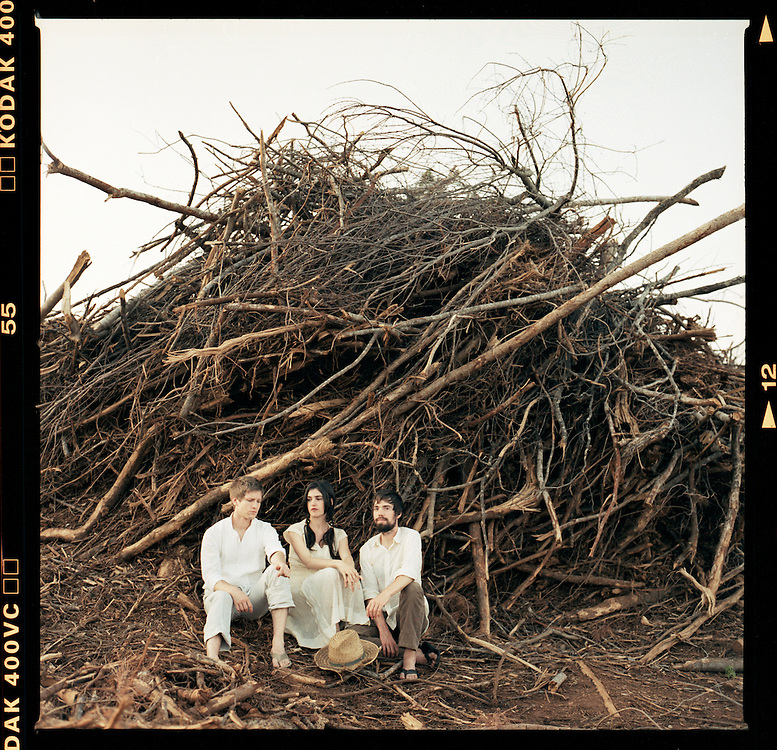 Bowerbirds, from left, Mark Paulson, Beth Tacular and Phil Moore. .Photo by DL Anderson