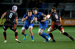 Caelan Doris of Leinster<br /> <br /> Photographer Simon King/Replay Images<br /> <br /> Guinness PRO14 Round 10 - Dragons v Leinster - Saturday 1st December 2018 - Rodney Parade - Newport<br /> <br /> World Copyright © Replay Images . All rights reserved. info@replayimages.co.uk - http://replayimages.co.uk
