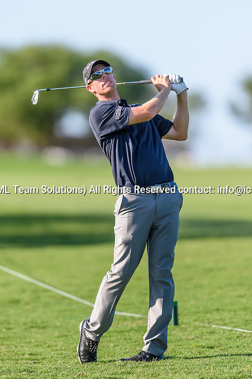 21 April 2016:  David Hearn during the first round of the Valero Texas Open at the TPC San Antonio Oaks Course in San Antonio, TX. (Photo by Daniel Dunn/Icon Sportswire)