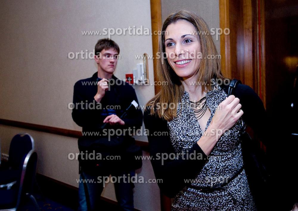 Marija Sestak, Best Slovenian athlete of the year at ceremony, on November 15, 2008 in Hotel Lev, Ljubljana, Slovenia. (Photo by Vid Ponikvar / Sportida)
