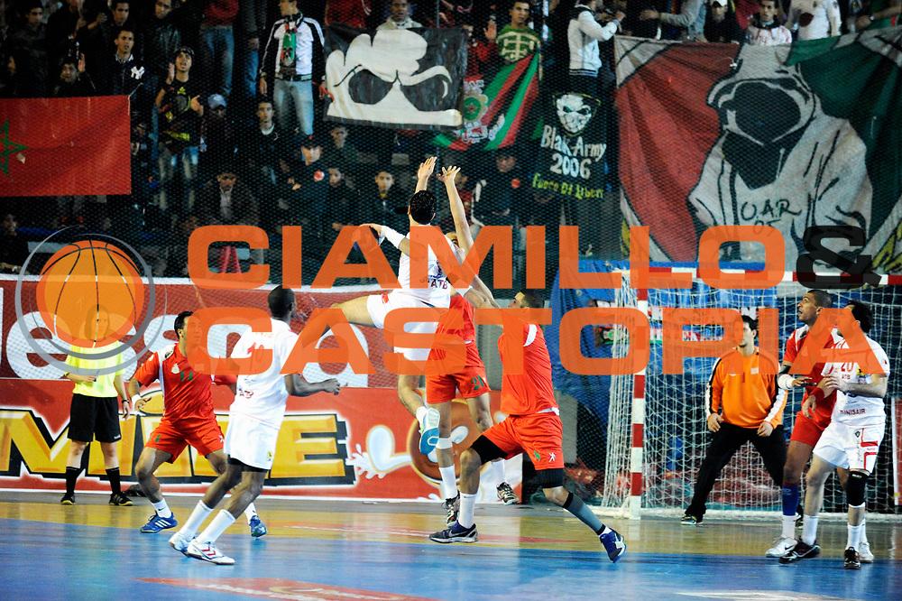 DESCRIZIONE : France Hand Coupe Afrique des Nations Homme Maroc Rabat<br /> GIOCATORE : Banour Amine <br /> SQUADRA : Tunisie<br /> EVENTO : FRANCE Hand CAN<br /> GARA : Maroc Tunisie<br /> DATA :19/01/2012<br /> CATEGORIA : Hand CAN<br /> SPORT : Handball<br /> AUTORE : JF Molliere <br /> Galleria : France Hand 2011-2012 Action<br /> Fotonotizia : CAN Hand RABAT Maroc Demi Finale<br /> Predefinita :