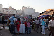 = market in front of the souk nations unis square casablanca morocco +