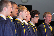 The senior ensemble performs during the Oakwood High School 88th annual commencement at the Dayton Convention Center in downtown Dayton, Monday, June 4, 2012.