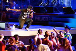 Ben Taylor, Jill Scott, Grace Potter, Hunter Hayes, J.Cole,  John Mayer and Ne-yo  (pictured here) take the stage for the Philly 4th of July concert with Questlove and the Roots. (Bas Slabbers/for NewsWorks)