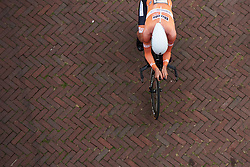Chantal Blaak (NED) at Boels Ladies Tour 2018 - Prologue, a 3.3 km time trial in Arnhem, Netherlands on August 28, 2018. Photo by Sean Robinson/velofocus.com