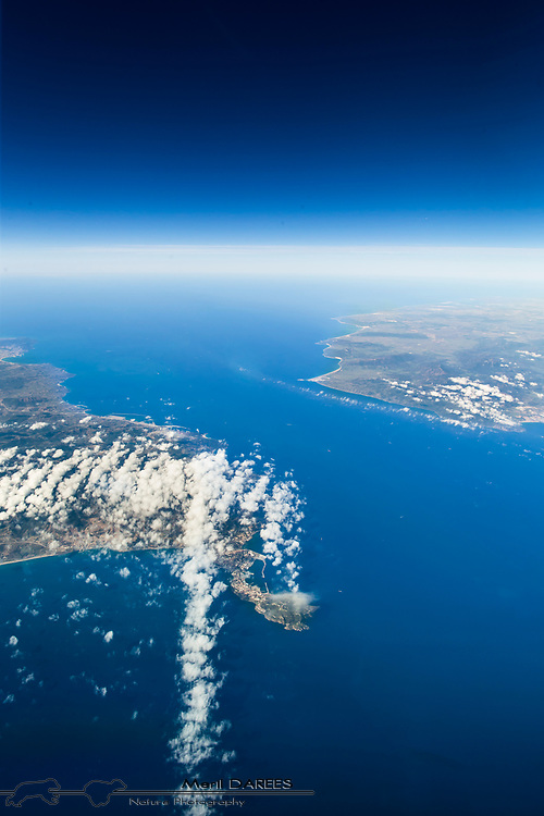 Straight of Gibraltar from above