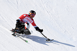 MORII Taiki LW11 JPN competing in the Para Alpine Skiing Downhill at the PyeongChang2018 Winter Paralympic Games, South Korea