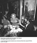Sharon Stone at Swifty's last Oscar Night  Party. Spago's. Los Angeles. March 1993. Film. 93258/7<br />© Copyright Photograph by Dafydd Jones<br />66 Stockwell Park Rd. London SW9 0DA<br />Tel 0171 733 0108