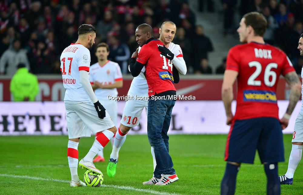 Eric ABIDAL / Dimitar BERBATOV  - 24.01.2015 - Lille / Monaco - 22eme journee de Ligue1<br />Photo : Dave Winter / Icon Sport