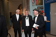 RICHARD LONG, GILES WALKER, TIM SHAW, 2019 Royal Academy Annual dinner, Piccadilly, London.  3 June 2019