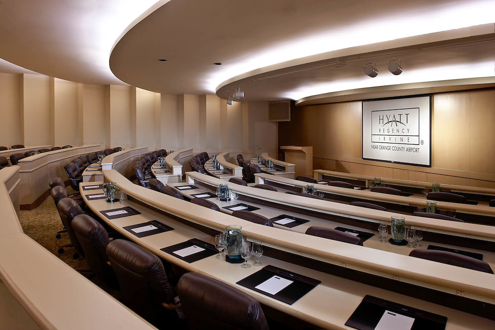 Hyatt Irvine hotel meeting room, ©2010 Wayne Cable, Los Angeles Photographer.   hospitality, architectural photography, Los Angeles, California, interior, meeting room, conference center, Orange County, Hyatt Hotels, interiors photographer,