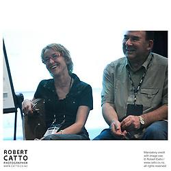 Mandy Harris;John Barnett at the Spada Conference 06 at the Hyatt Regency Hotel, Auckland, New Zealand.<br />