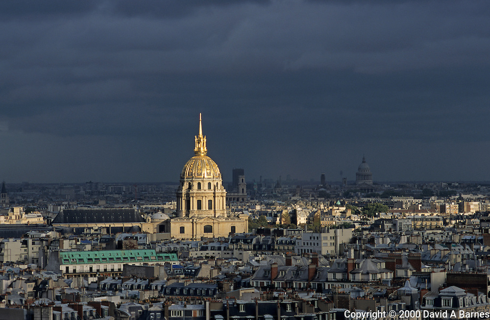 Dome of Les Invalides; Paris; France