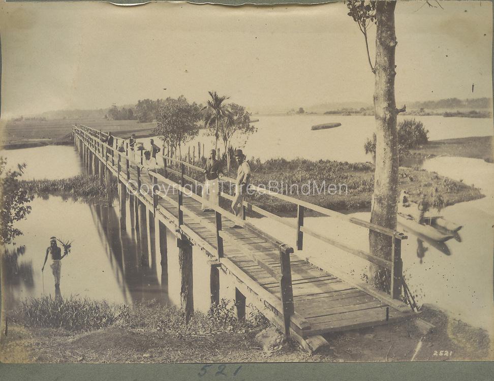 Wooden Bridge.<br /> by Skeen &amp; Co.