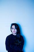 """Catalina Bu, Ilustradora y autora del libro""""Diario de un Solo"""". Santiago de Chile, 04-08-16 (©Alvaro de la Fuente/Triple.cl)"""