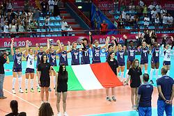 INNO<br /> ITALIA - OLANDA<br /> VOLLEYBALL WORLD GRAND PRIX 2016<br /> BARI 18-06-2016<br /> FOTO GALBIATI - RUBIN