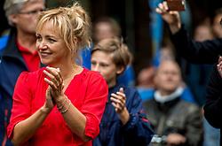 24-06-2017 NED: Start Homeride & Homerun, Utrecht<br /> Vanaf de Domplein startte de HomeRide en Homerun. Een 500km en 200 km event in 24 uur. Yvon jaspers