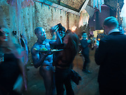 Worlds Without End - A Winter Masked Ball in the Waterloo Vaults organised by Suzette Field. Leake st. London. 24 November 2017