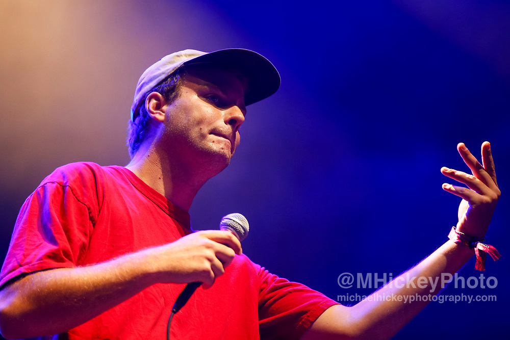 CHICAGO, IL - AUGUST 05: Mac Demarco performs at Grant Park on August 5, 2017 in Chicago, Illinois. (Photo by Michael Hickey/Getty Images) *** Local Caption *** Mac Demarco