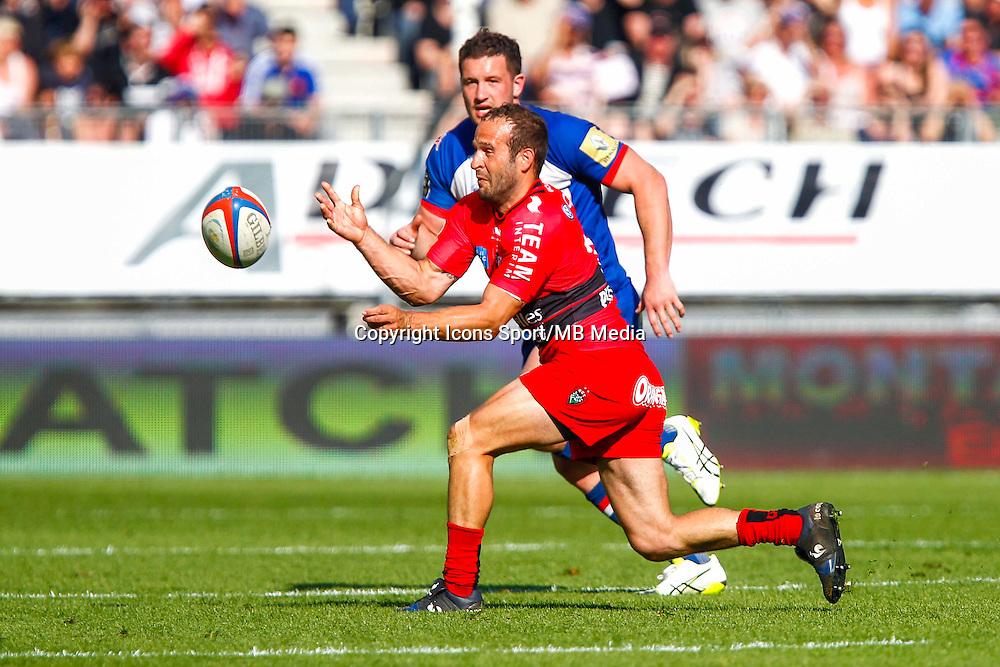 Frederic MICHALAK  - 11.04.2015 - Grenoble / Toulon  - 22eme journee de Top 14 <br />Photo :  Jacques Robert / Icon Sport