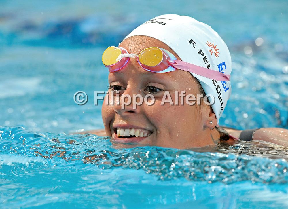 &copy; Filippo Alfero<br /> Aspria Swimming Cup 2011<br /> Milano, 28,29/06/2011<br /> sport nuoto<br /> Nella foto: Federica Pellegrini