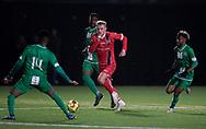 Lucas Lodberg (FC Helsingør) under træningskampen mellem FC Helsingør og Saudi Arabien U21 landshold den 27. november 2019 på Svanemølle Anlægget i København (Foto: Claus Birch).