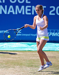 LIVERPOOL, ENGLAND - Sunday, June 24, 2018: Ellie Tsimbilakis (GBR) during day four of the Williams BMW Liverpool International Tennis Tournament 2018 at Aigburth Cricket Club. (Pic by Paul Greenwood/Propaganda)